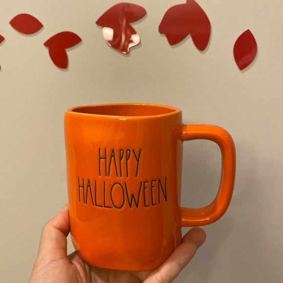 rae dunn happy halloween mug